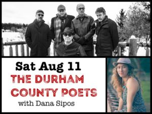 Durham County Poets with Dana Sipos @ Desboro Music Hall | Chatsworth | Ontario | Canada