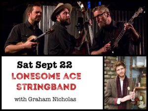 Lonesome Ace Stringband with Graham Nicholas @ Desboro Music Hall | Chatsworth | Ontario | Canada