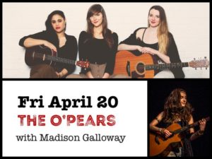 The O'Pears with Madison Galloway @ Desboro Music hall | Chatsworth | Ontario | Canada
