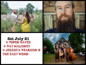 Piper Hayes, Pat Maloney and Jessica Pearson & The East Wind @ Desboro Music Hall | Chatsworth | Ontario | Canada
