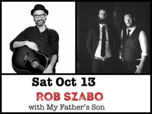 Rob Szabo with My Father's Son @ Desboro Music Hall | Chatsworth | Ontario | Canada