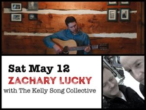 Zachary Lucky with The Kelly Song Collective @ Desboro Music Hall | Chatsworth | Ontario | Canada