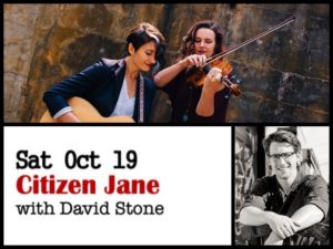 Citizen Jane with David Stone @ Desboro Music Hall