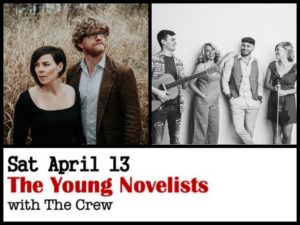 The Young Novelists with The Crew @ Desboro Music Hall
