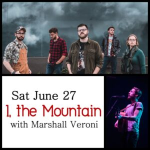 I, the Mountain with Marshall Veroni @ Desboro Music Hall