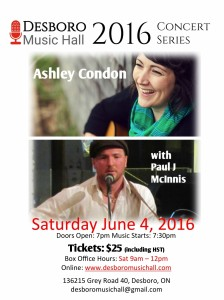 Ashley Condon Poster