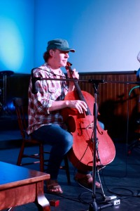 Scott Wicken on cello